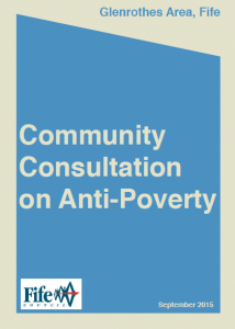 2015 - Glenrothes Community Consultation on Anti-Poverty - Report Cover Page